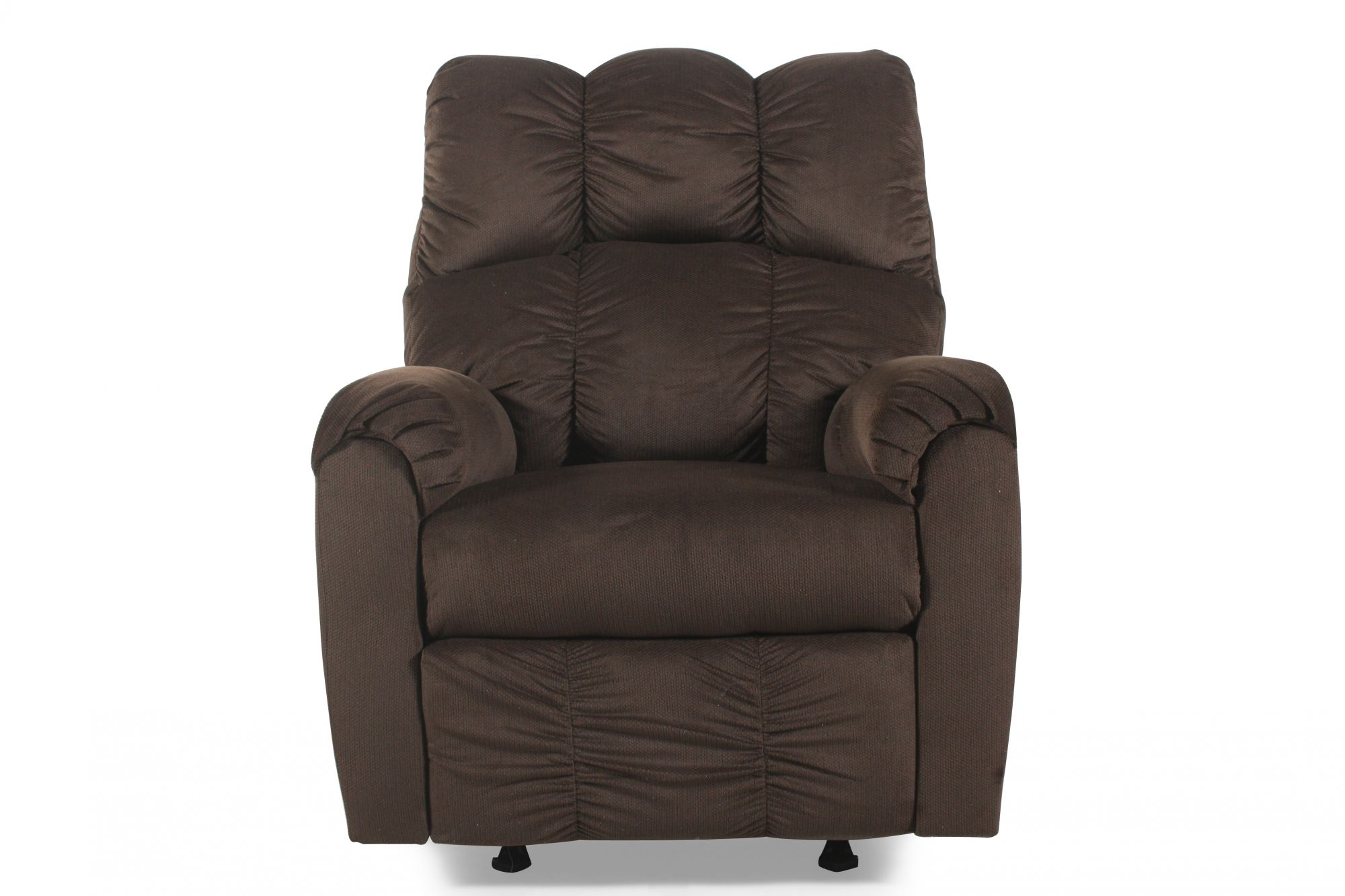 Ashley Recliner Chair Ashley Raulo Chocolate Rocker Recliner Mathis Brothers