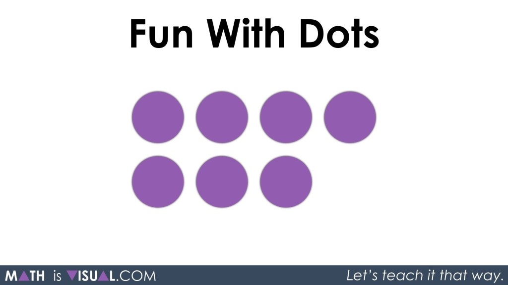 Conceptual Subitizing With Dot Cards Part 2 - Visual Prompt 02