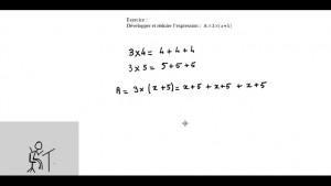 Vidéo explicative : »la distributivité dans tous ses états