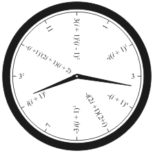 Fun with num3ers: Math Clocks