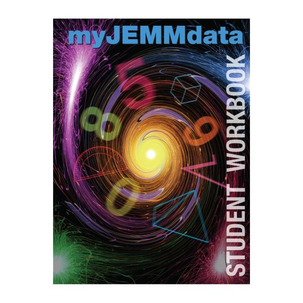 my JEMM data Student Workbook on square background