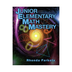 Junior Elementary Math Mastery Teacher Book on square background