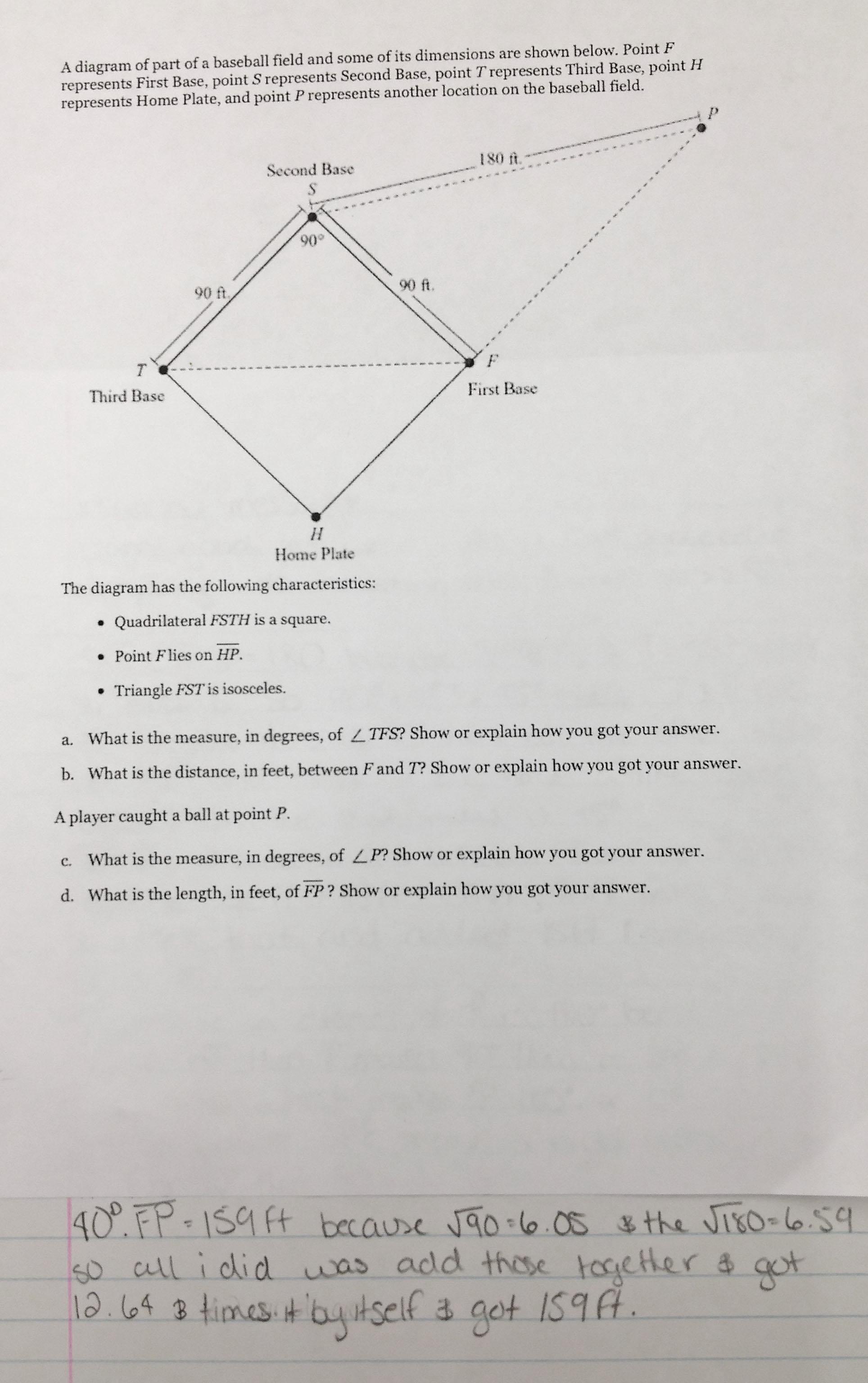 Baseball Fields and Geometry « Math Mistakes