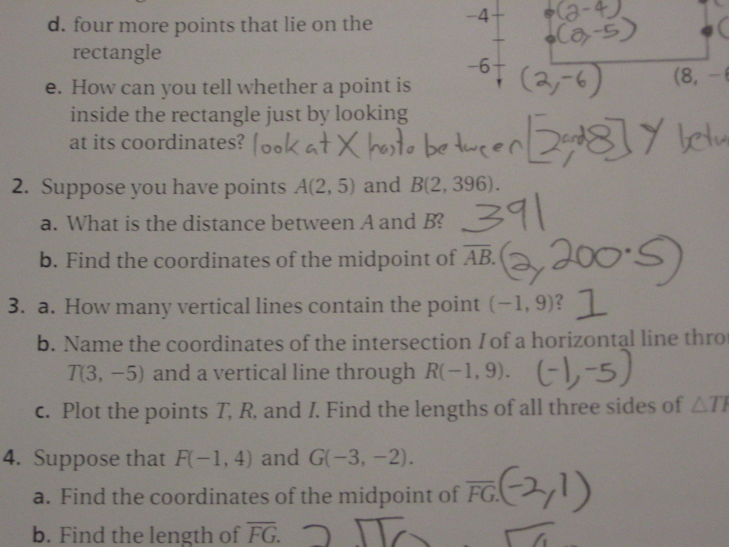 Expressing Geometric Properties with Equations « Math Mistakes