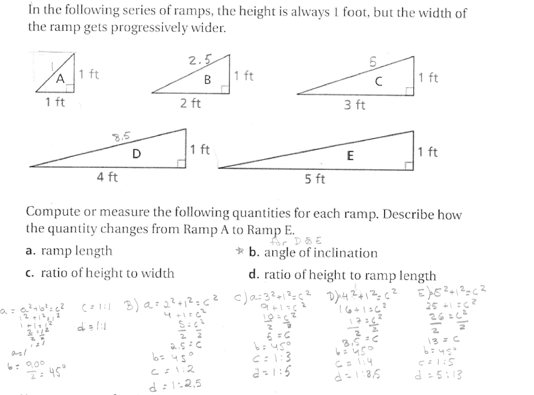 Worksheet Pythagorean Theorem