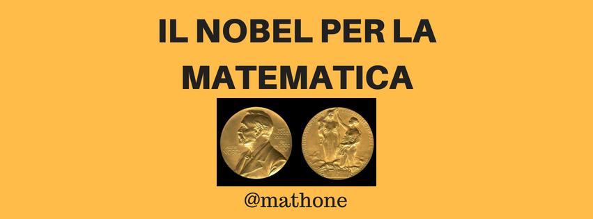 Nobel per la matematica