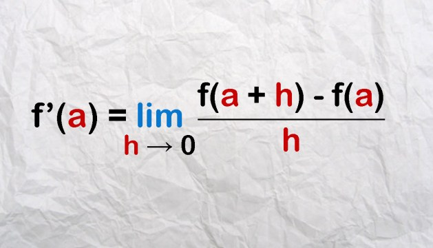 The derivative using the limit definition