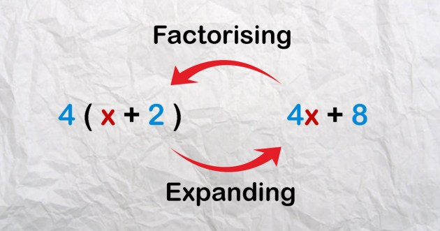 Expanding and Factorising Algebraic Expressions