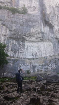 Photographing Malham Cove