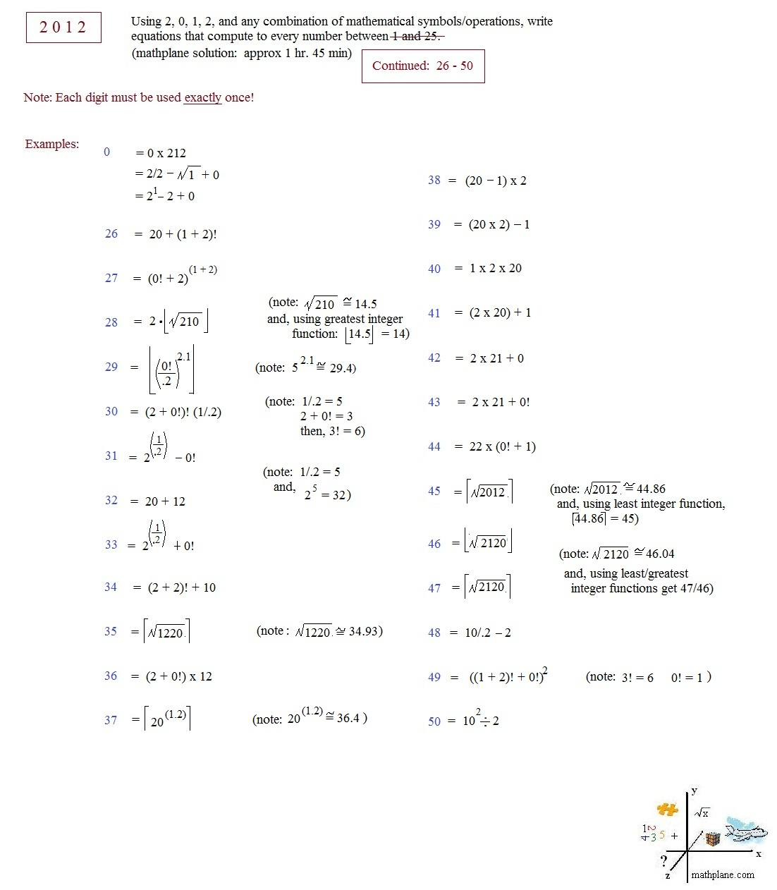 Solving Quadratics Worksheet Puzzle Images