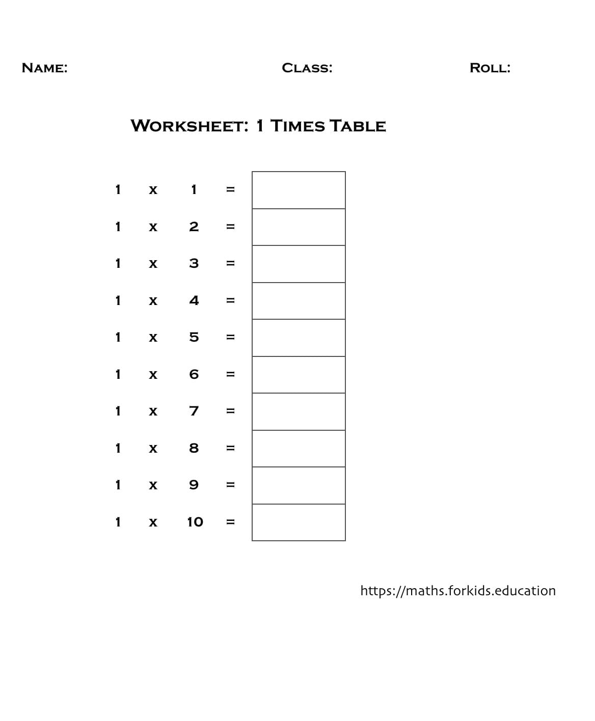 - Multiplication Tables Of 1 To 20 (With Printable Charts And