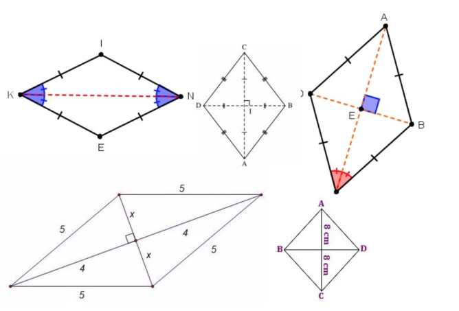 example of Rhombus