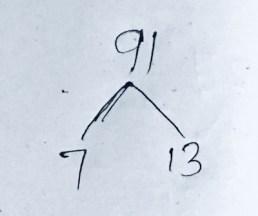 prime Factors of 91