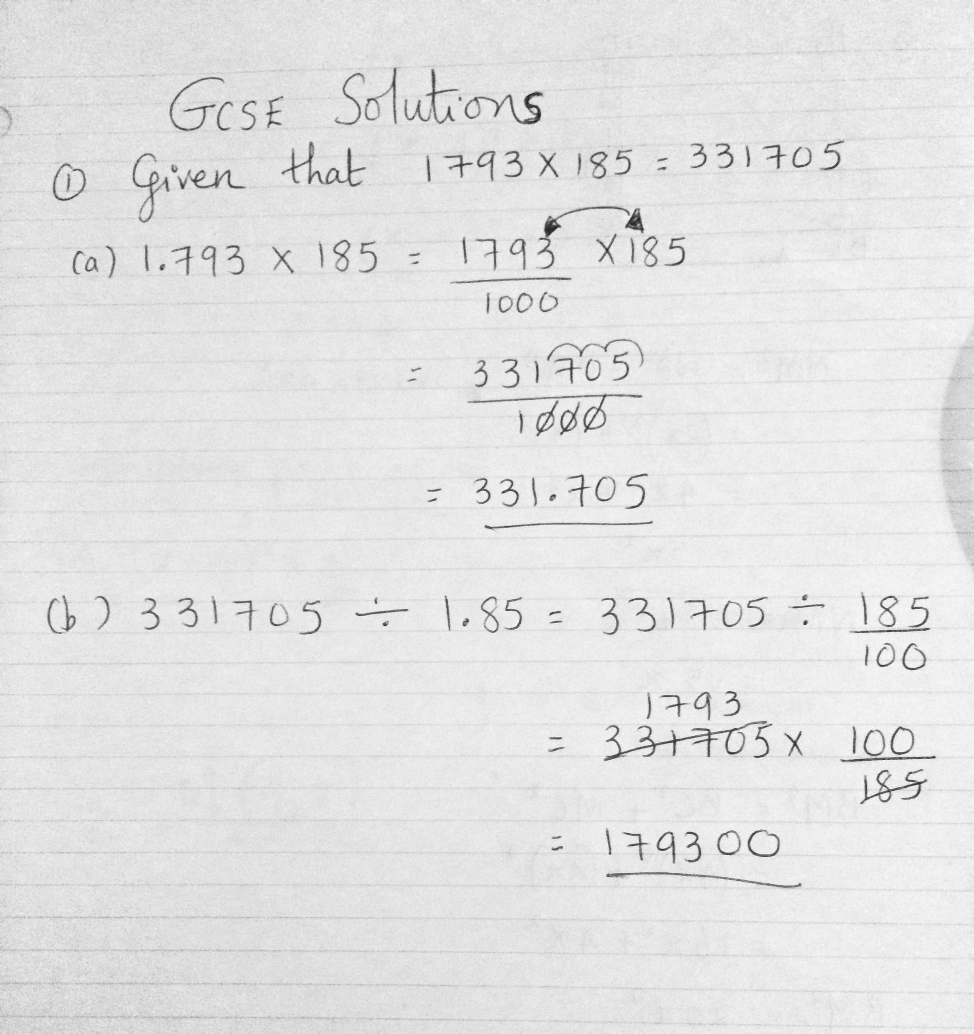Past exam questions : Standard form , Quadratic