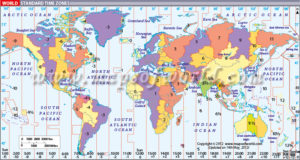 Figure 1: Time Zones Around the World. (Source)