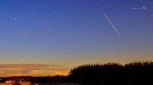 Figure 1: Meteor at Twilight.
