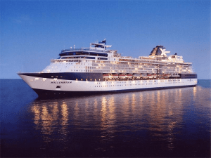 Figure 1: Cruise Ship Millenium – my favorite. (Source)