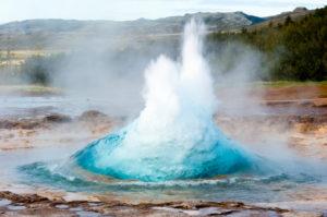 Figure 1: Strokkur Geyser in Iceland.