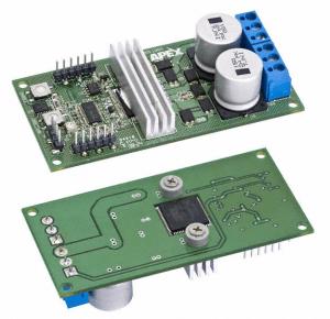 Figure 1: Apex SA57 Evaluation Printed Circuit Board.