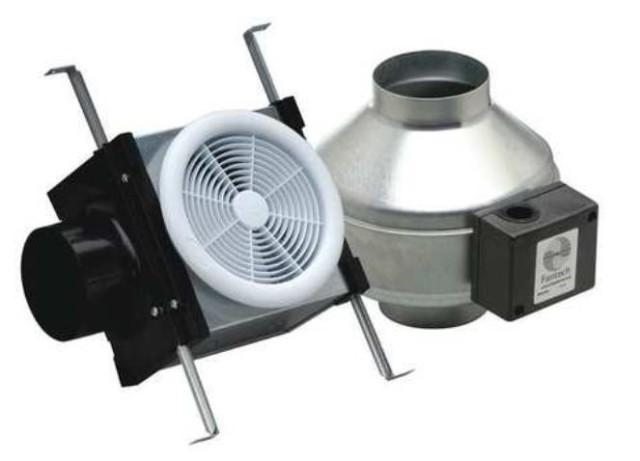 Figure 4: Fantech PB110 Bathroom Fan.