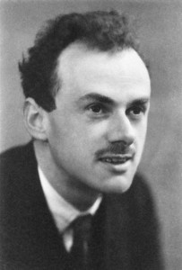Figure 1: PAM Dirac, a Key Contributor to Understanding the Physics of the Electron.