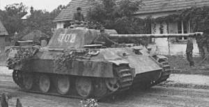 Figure 1: Panther Tank, Also Known As Panzer V.