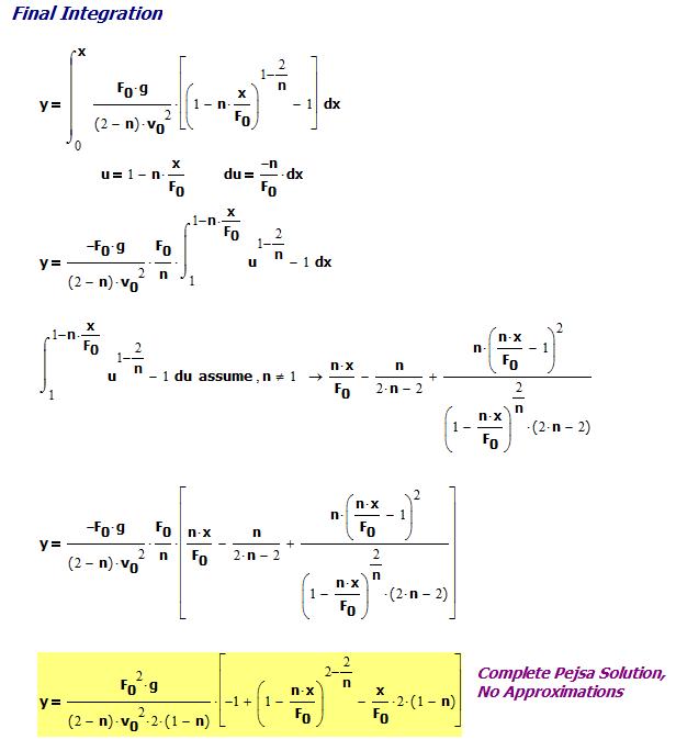 Figure 2: Integrating y' to Obtain y.