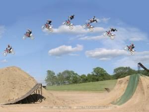 Figure 1: Great Photo of Bicycle Acrobatics.