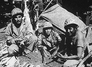 Figure 1: World War 2 Navajo Code Talkers.