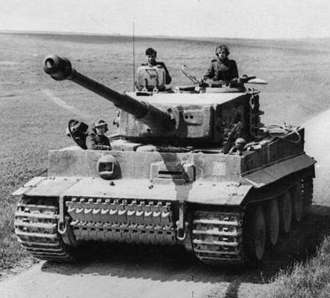 Figure 3: Tiger I Tank of WW2.