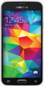Figure 1: Samsung S5 Android Phone.