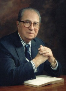 """Figure 1: Mortimer Adler, who wrote the book called """"How to Read a Book""""."""