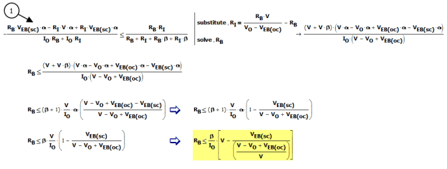 Figure M: Derive Constraint on RB.