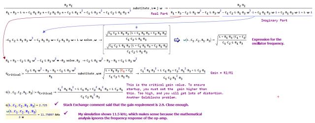 Figure 4: Derivation of Critical Formulae.