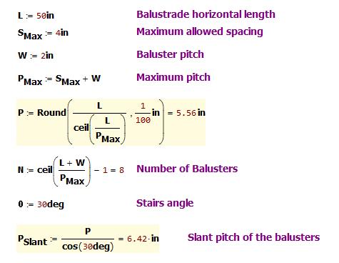 Figure M: Mathcad Calculations.