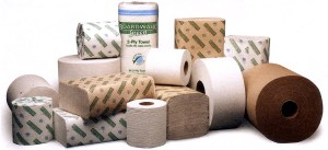 Figure 1: Typical Janitorial Paper Products.