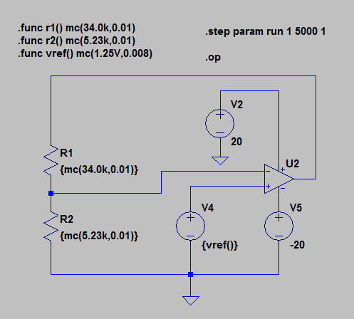Figure 4: Using Feedback to Solve For The Critical Supply Voltage.