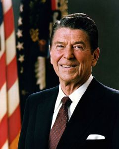 Figure 1: Ronald Reagan, The Oldest US President at Inauguration.