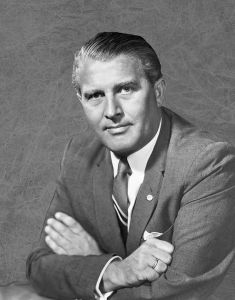 Figure 1: Wernher von Braun in 1960. (Source)