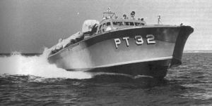 Figure M: PT-32, one of the PT boats that evacuated MacArthur from the Philippines.