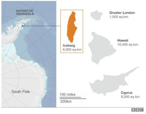 Figure 1: Good Illustration of the Iceberg's Size.