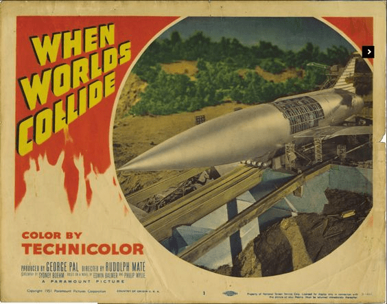 Figure 3: When Worlds Collide Movie Poster.