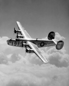Figure 1: Consolidated B-24 Liberator was the Most Produced WW2 Heavy Bomber.