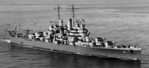 Figure 1: USS Cleveland, which was the lead ship of the most produced US cruiser class of WW2.