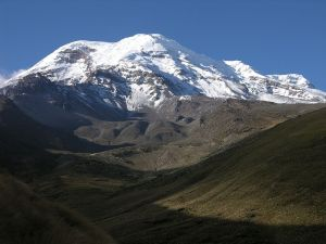 Figure 1: Photograph of Mount Chimborazo.