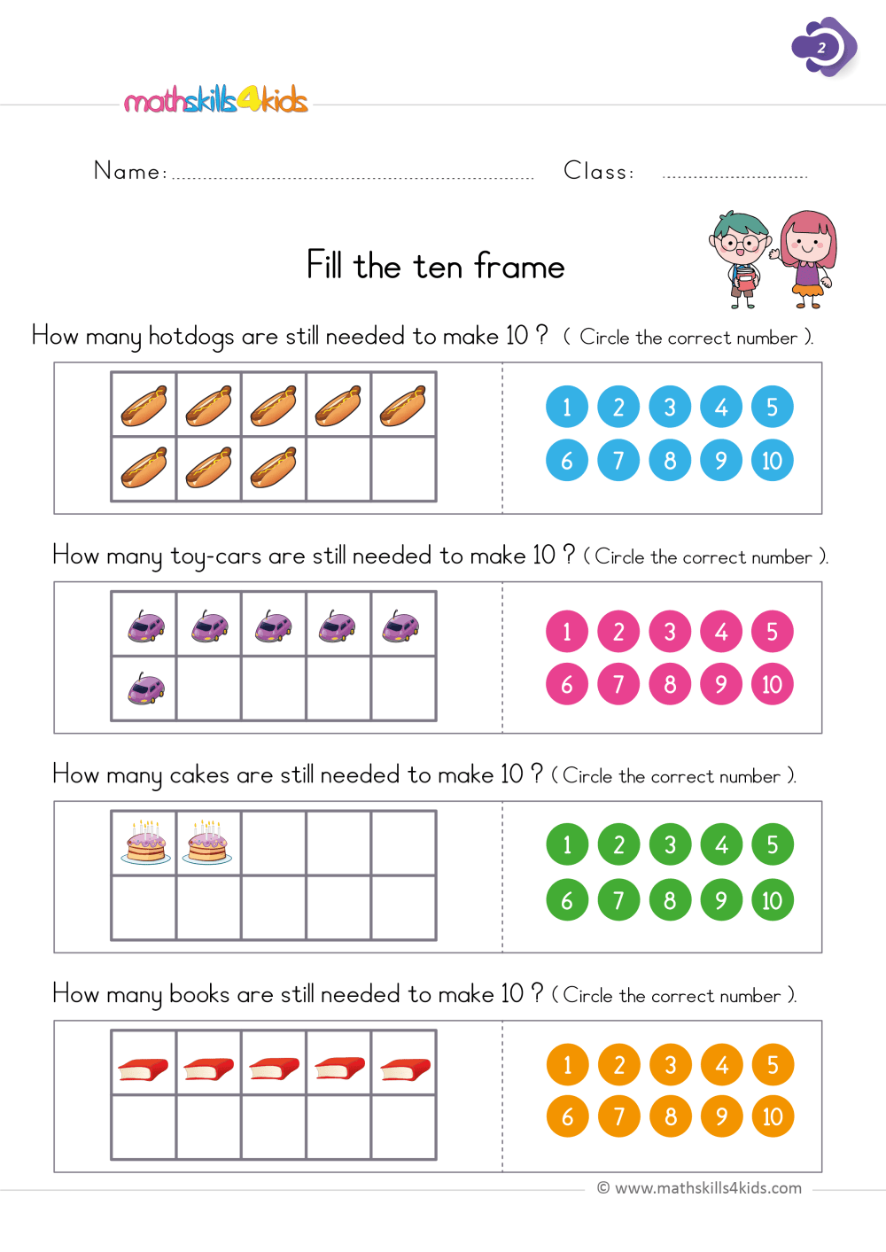 medium resolution of First Grade Math Worksheets PDF   Free Printable 1st Grade Math Worksheets