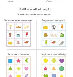 Position Worksheets for Kindergarten   Free Printable Positional Words PDF  for Kinders [ 3508 x 2482 Pixel ]