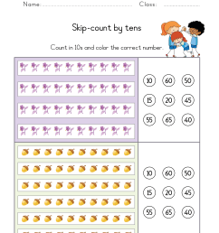 Skip counting worksheets for Kindergarten pdf   Skip counting by 2s [ 3508 x 2481 Pixel ]