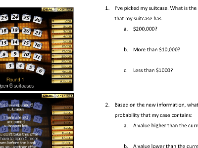Deal or No Deal - MathsFaculty