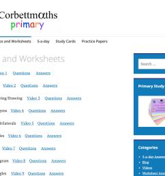 Corbett Maths Worksheets   Printable Worksheets and Activities for  Teachers [ 863 x 1263 Pixel ]
